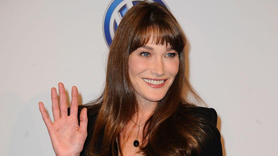 Carla Bruni : Selon elle, sa grossesse l'a rendue moche