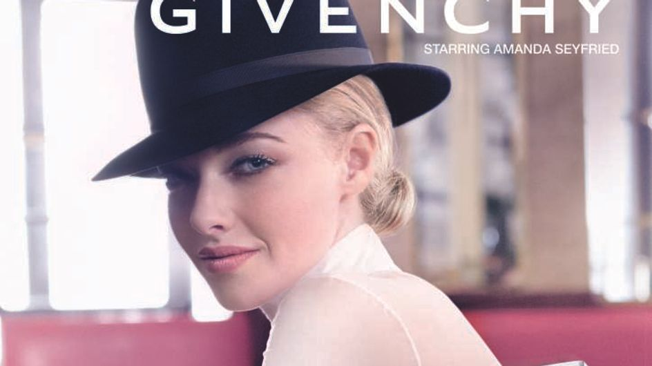 Amanda Seyfried est la nouvelle égérie Givenchy
