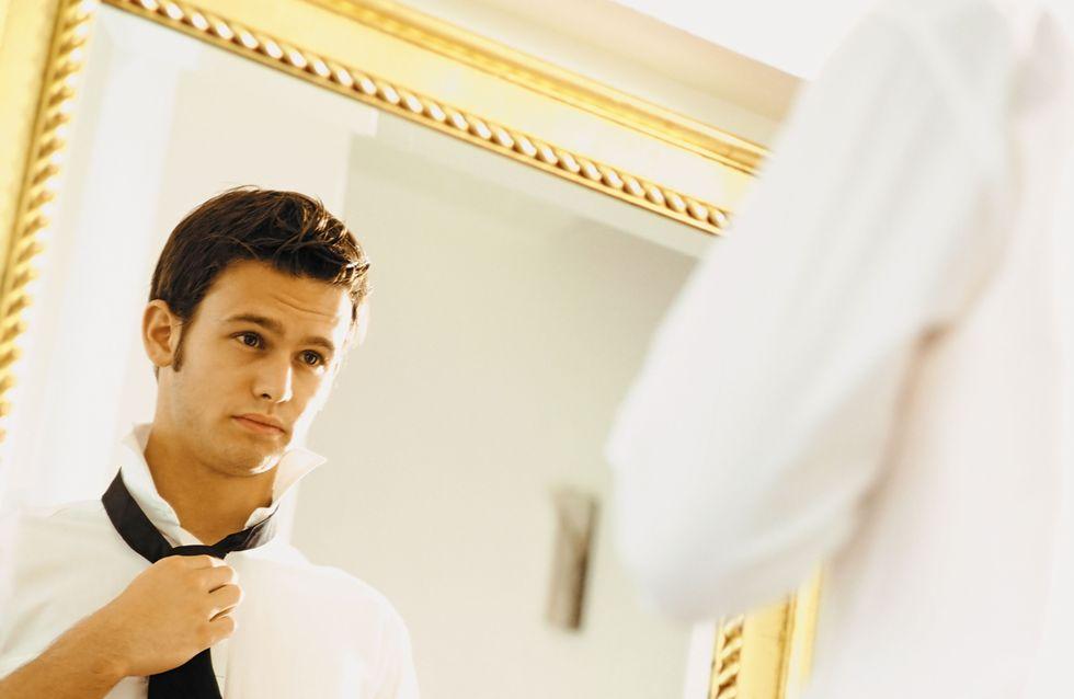 1 homme sur 4 se trouve plus beau que sa compagne !