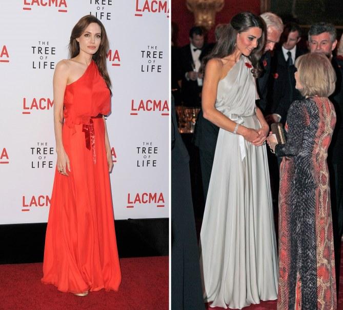 Angelina Jolie VS Kate Middleton
