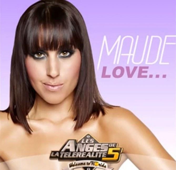 La pochette du single de Maude