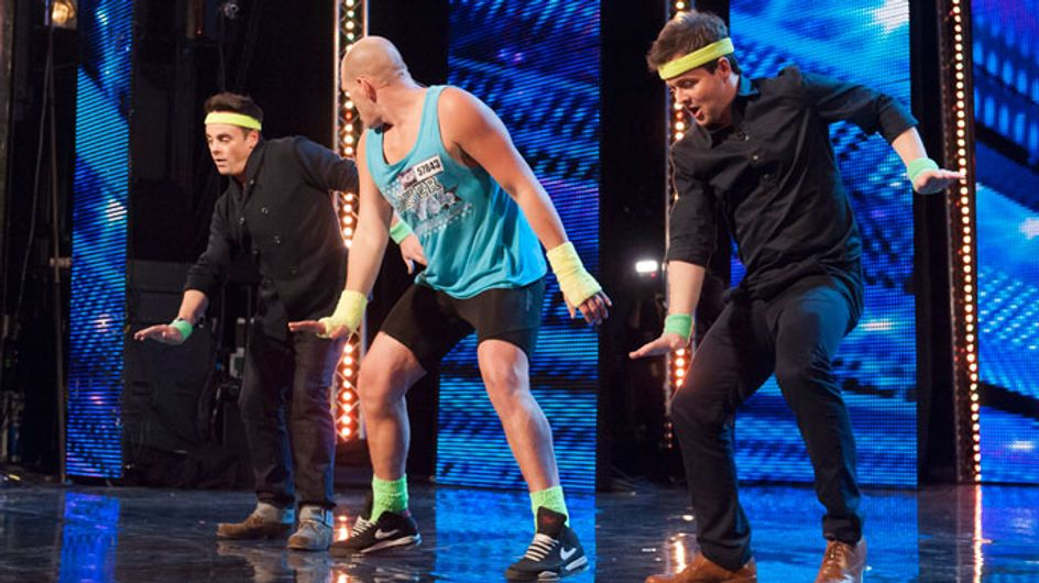 """BGT 2013: Ant and Dec bust a move in """"funkasize"""" routine"""