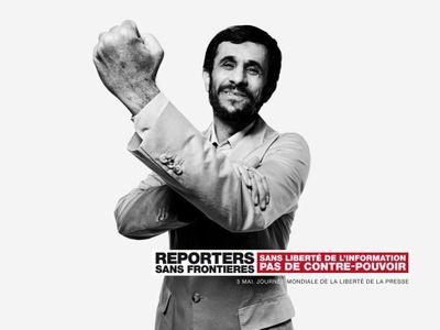 Liberté de la presse : Une campagne choc pour la promouvoir