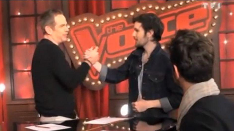 The Voice : Baptiste fait pleurer Garou sur L'hymne à l'amour (Vidéo)