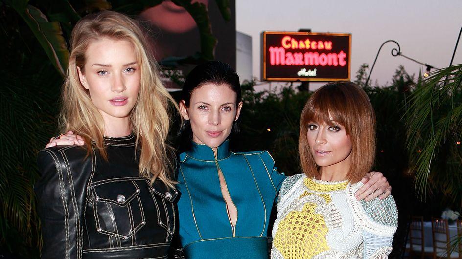Nicole Richie, Liberty Ross et Rosie Huntington-Whiteley, c'est soirée déguisée ?