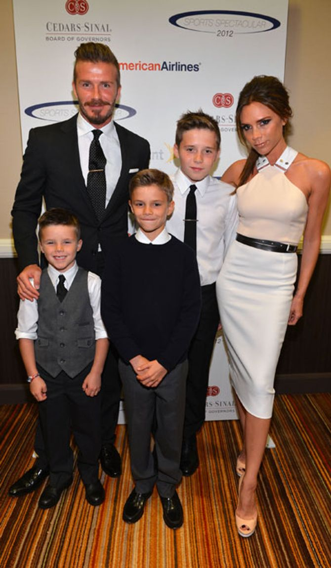 The Beckham family