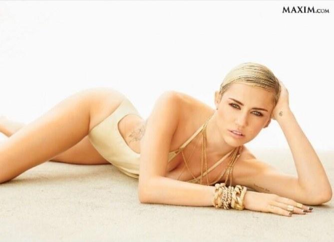 Miley Cyrus star la plus sexy
