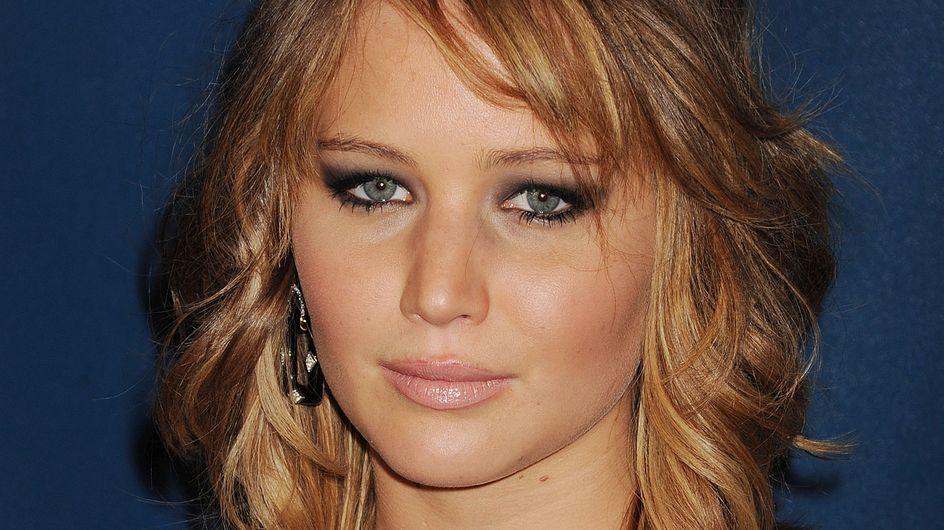 Jennifer Lawrence : Sans maquillage sur le tapis rouge