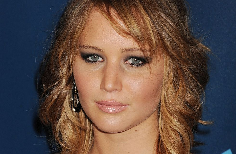 Jennifer Lawrence : Sans maquillage sur le tapis rouge