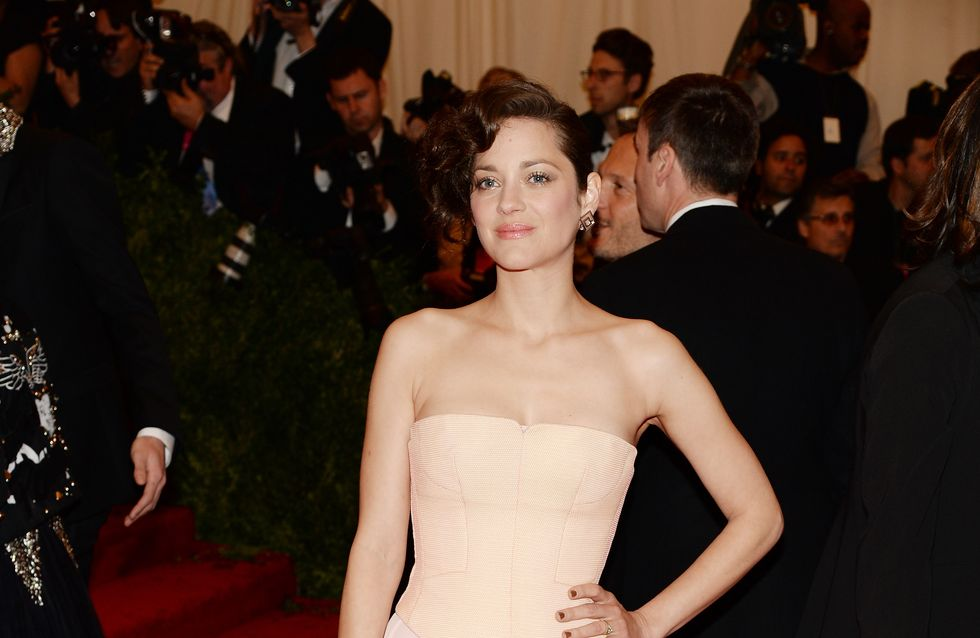 Marion Cotillard au Met Ball 2013 : Simple mais élégante (Photos)