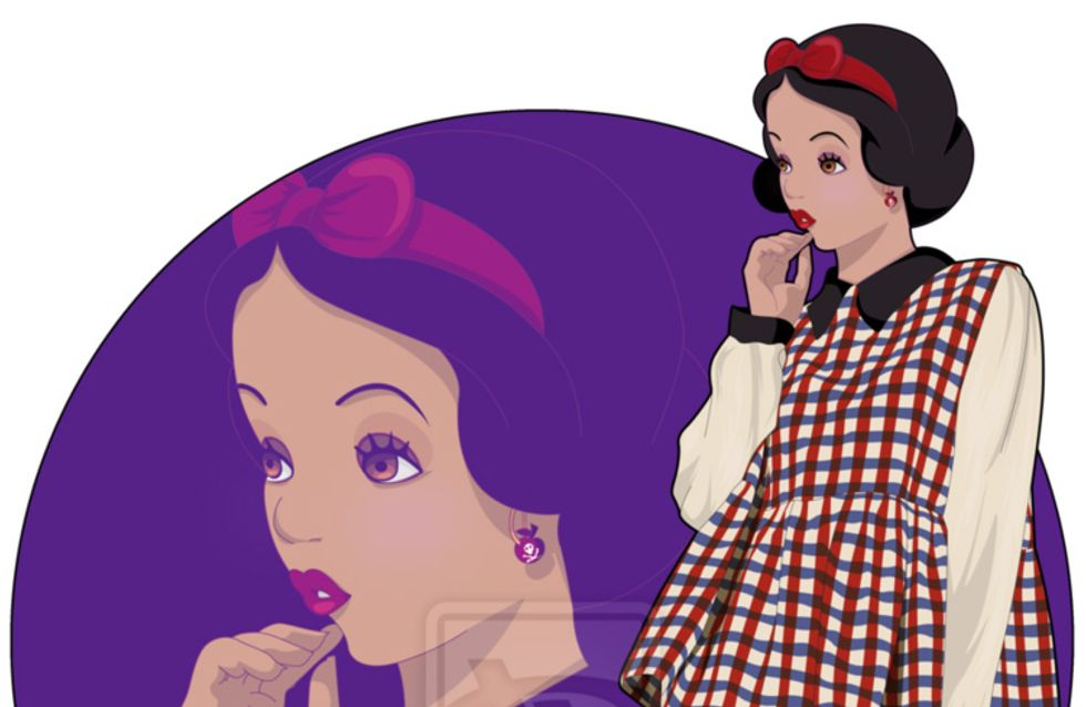Disney : Les princes et princesses relookés en jeunes cools !