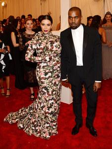Kanye West et Kim Kardashian à New York pour le Met Ball