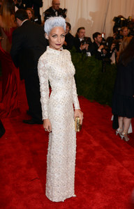 Nicole Richie lors du Met Ball 2013 à New York
