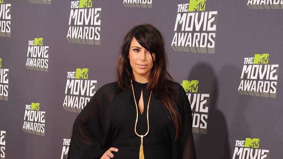 Kim Kardashian enceinte : Sexy en bikini à Mykonos (Photos)