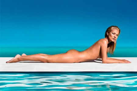Kate Moss for St. Tropez