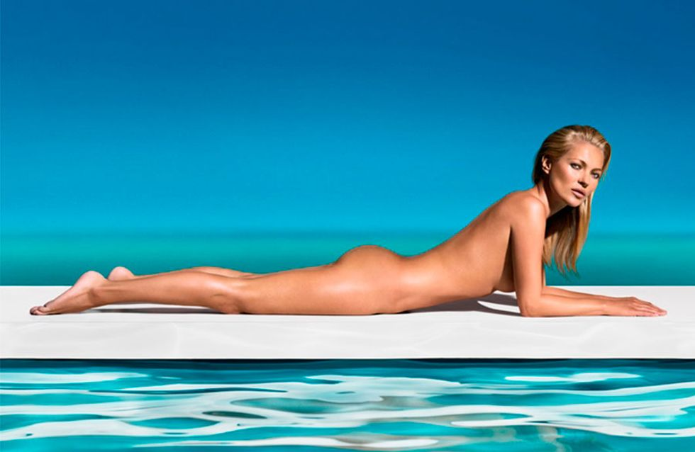 Kate Moss new face of St. Tropez