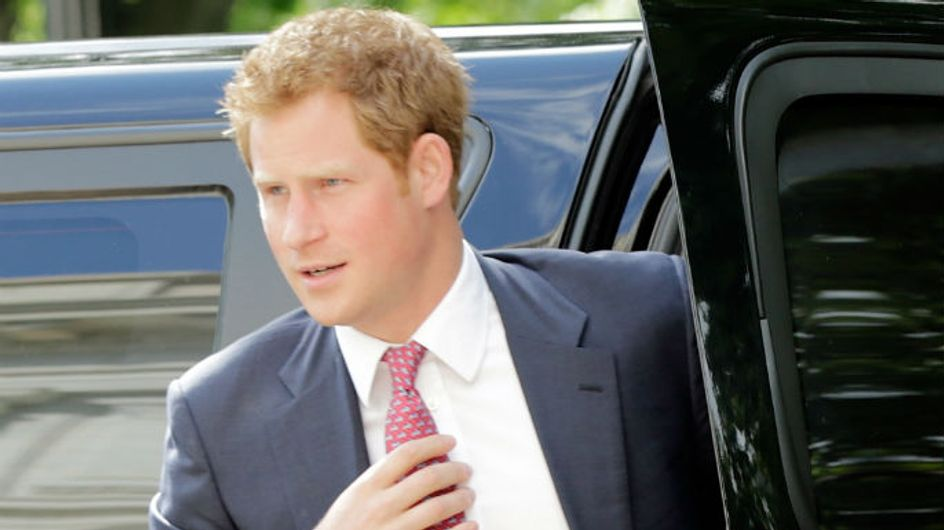 Prince Harry's girlfriend Cressida nowhere to be seen as he's greeted by screaming fans in US