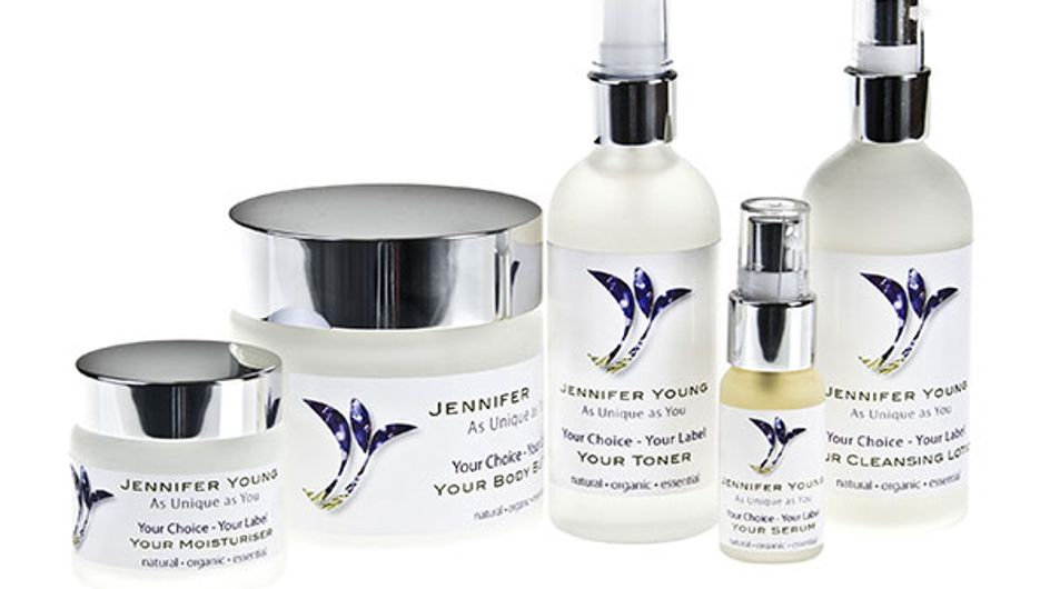 Jennifer Young's bespoke skincare collection