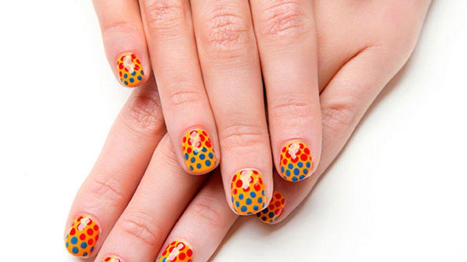 Short nail art tips from Sophy Robson