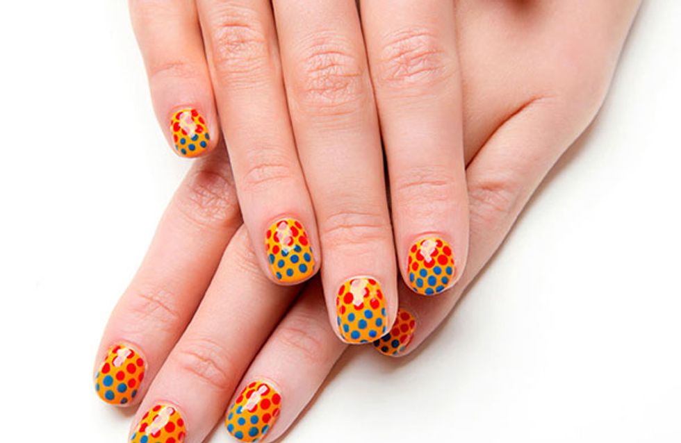 Short nail art tips from Sophy Robson