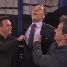 BGT 2013: David Walliams gets cheeky as Ant and Dec pinch his nipples