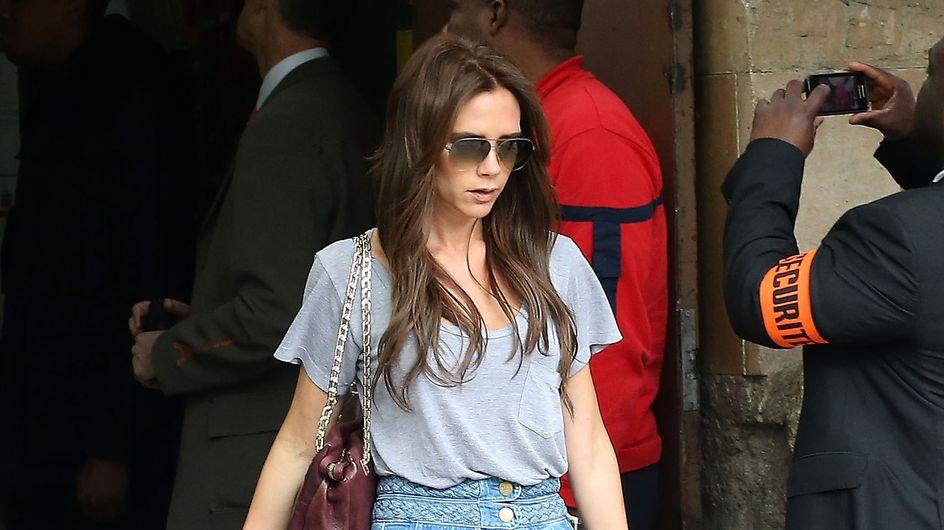On veut toutes un pantalon pattes d'eph comme Victoria Beckham