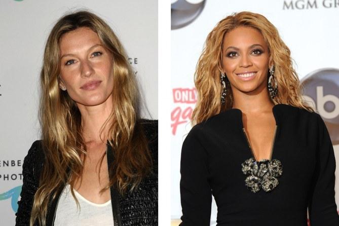 Beyoncé et Gisele Bundchen, des super- mamans !