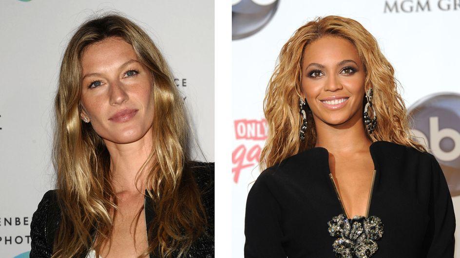 Beyoncé et Gisele Bundchen, des super mamans !