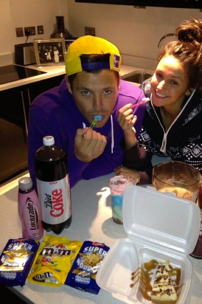 Mark Wright and Michelle Keegan's night in