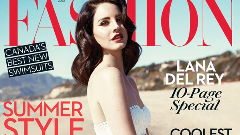 Lana Del Rey, une vision rétro en couverture de Fashion magazine