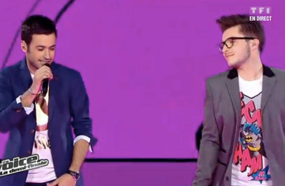 The Voice : Nuno, Olympe, Loïs et Yoann en finale