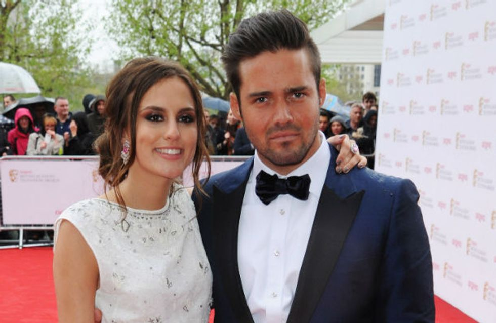 TV BAFTAs 2013: Made In Chelsea's Spencer Matthews and Lucy Watson make their debut as a couple