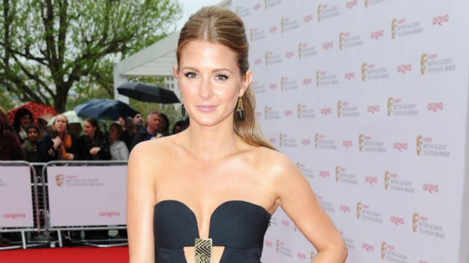TV BAFTAs 2013: Made In Chelsea's Millie Mackintosh looks tiny in sexy cut-out dress