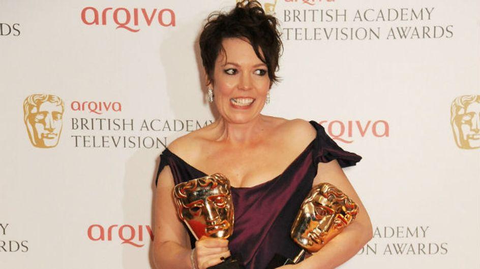 VIDEO Olivia Colman's speech at TV BAFTAs 2013: Actress gets emotional as she wins three awards