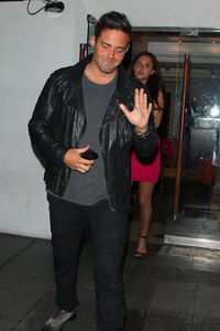 Spencer Matthews and Lucy Watson