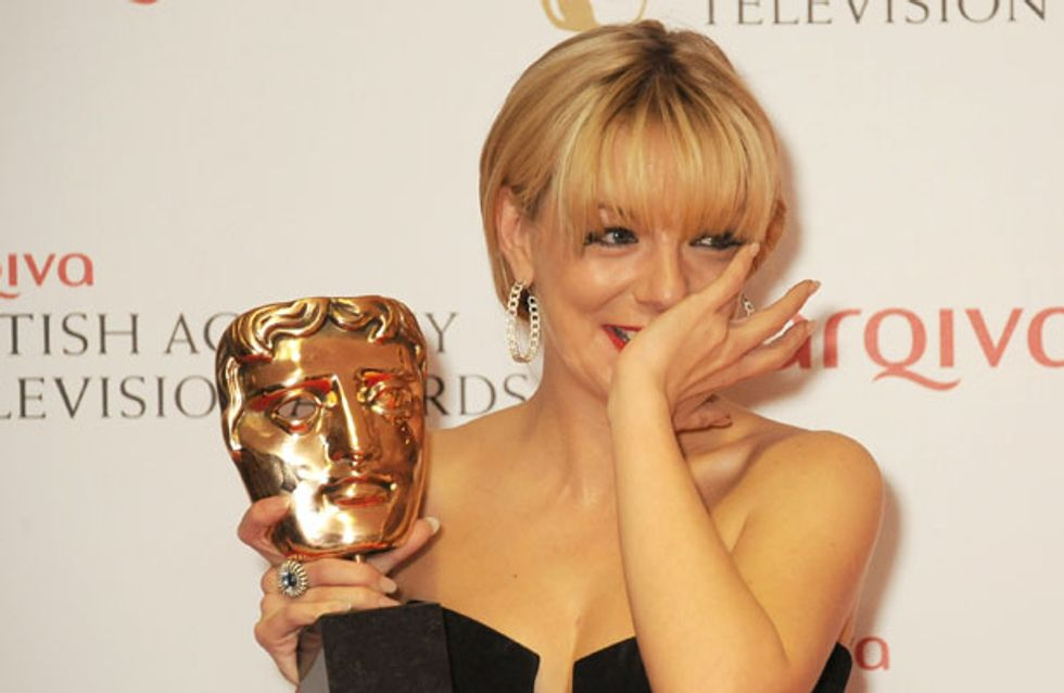 TV BAFTAs 2013: Sheridan Smith cries in disbelief after Leading Actress Award win