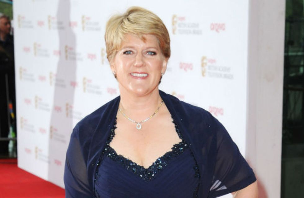 TV BAFTAs 2013: Clare Balding forgets her acceptance speech