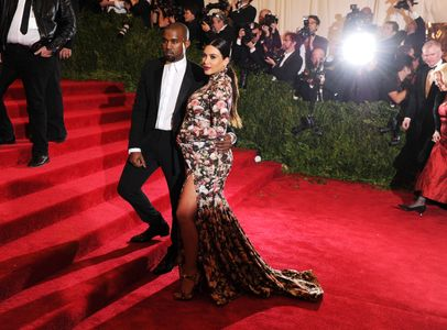 Kim Kardashian et Kanye West au Met Ball 2013