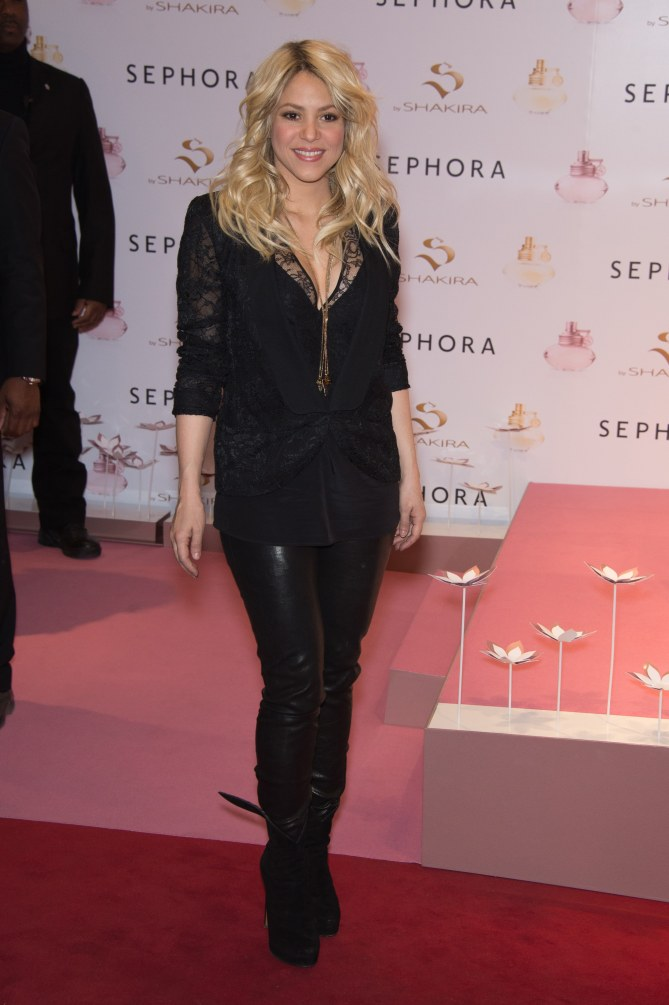 Shakira après son accouchement