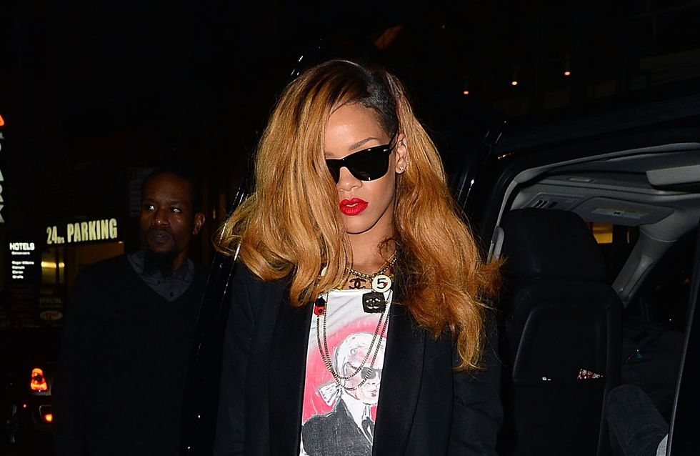Rihanna, son look chic et sexy