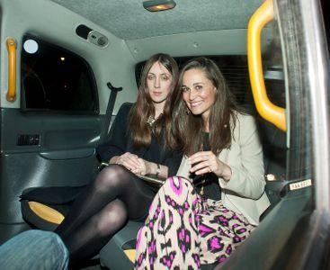 Pippa Middleton en pyjama de ville