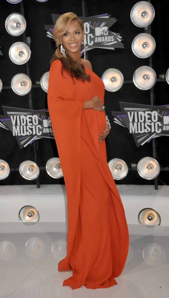 Beyoncé enceinte, en 2011