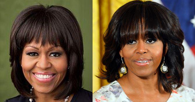 Michelle Obama : Avant / Après