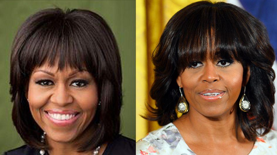 Michelle Obama change de tête (Photos)