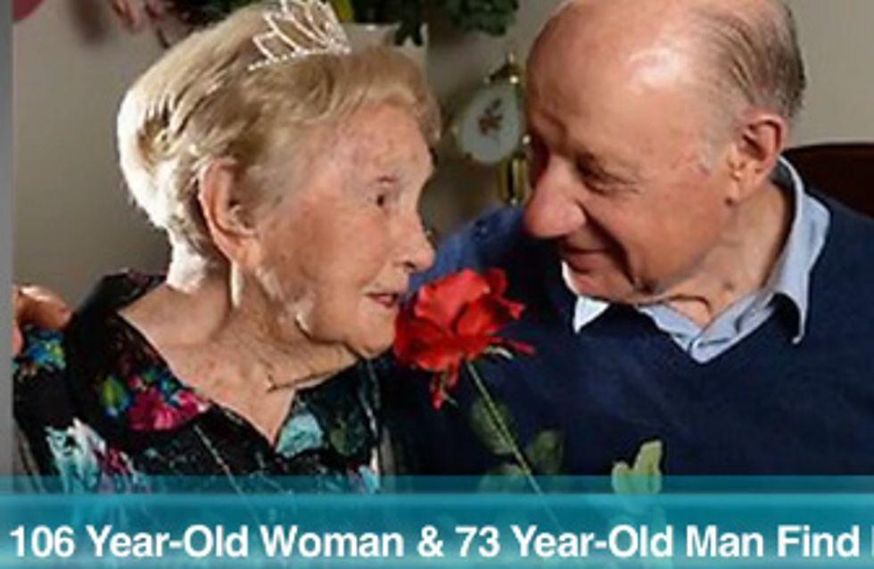 A 106 ans, elle trouve enfin l'amour ! (Vidéo)