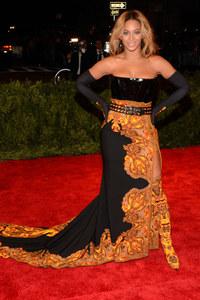 Beyoncé Knowles at the Met Ball