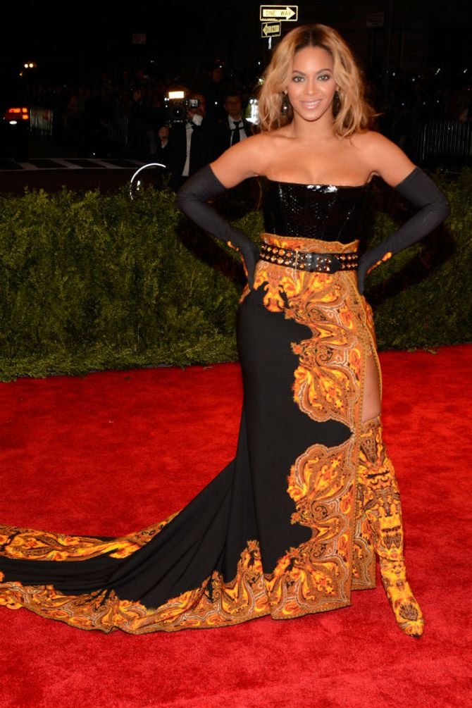 Beyoncé Knowles at the Met Ball