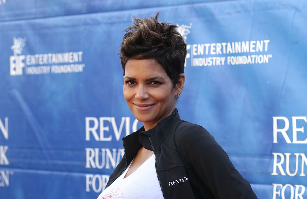 Halle Berry : Enceinte et sexy même en jogging (Photo)