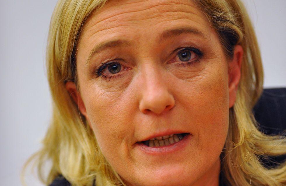 """Marine Le Pen parle de """"déferlement de racailles"""" lors de la fête gâchée du PSG"""