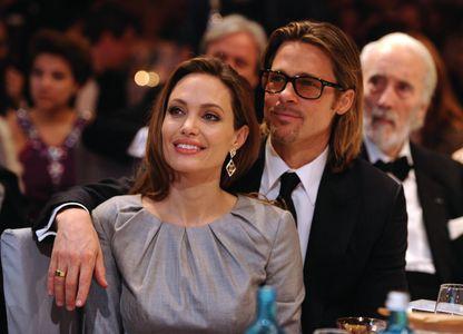 Brad Pitt et Angelina Jolie en 2013